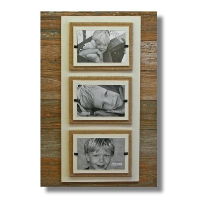 Triple Picture Frame Color: Cream