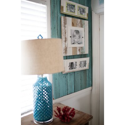 Cape Cod Double Picture Frame Color: White