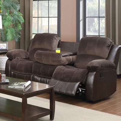 COCO Double Reclining Sofa with Drop Down Table
