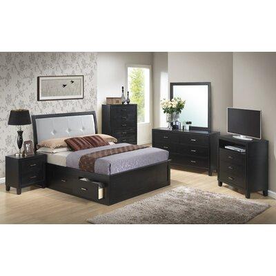 Glory Furniture Solara Storage Sleigh Bed - Size: Full
