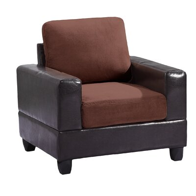 Childress Arm Chair Upholstery: Chocolate