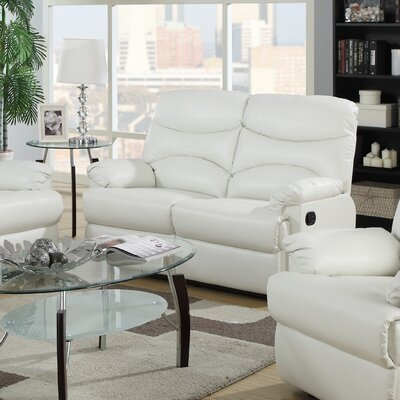 G459-RL JLDQ1281 Glory Furniture Reclining Loveseat