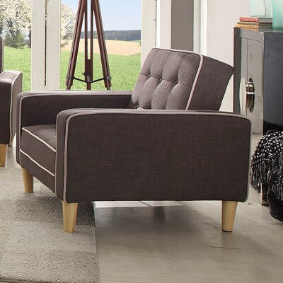 Eastie Bed Armchair Upholstery: Gray