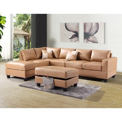 Glory Furniture G30 Reversible Chaise Sectional