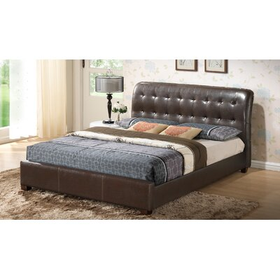 Dino Upholstered Panel Bed Size: Full
