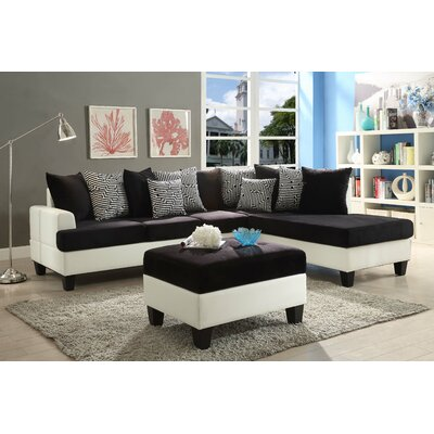 Glory Furniture G220-SC Domino Reversible Chaise Sectional