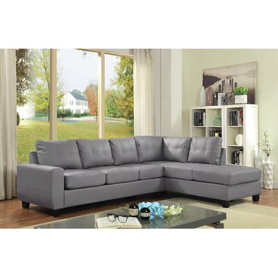 Glory Furniture G202B-SC Lina Reversible Sectional Upholstery
