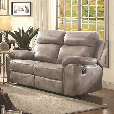 G670-RL Glory Furniture Gray Sofas