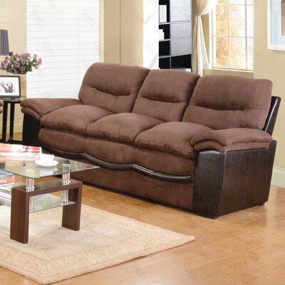 Cloud Sofa Upholstery: Chocolate