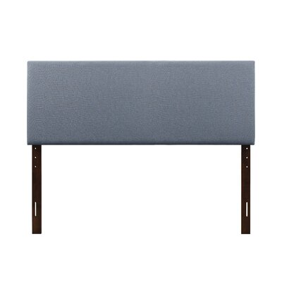 Albermarle Upholstered Panel Headboard Size: Twin, Upholstery: Light Blue