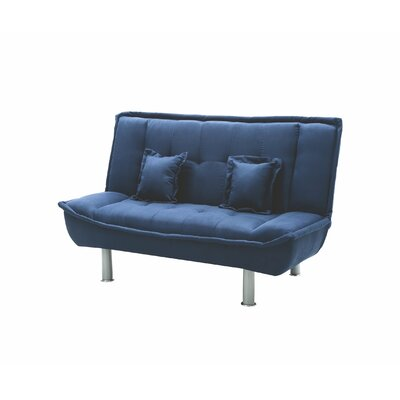 Hertford Sleeper Loveseat Upholstery: Blue