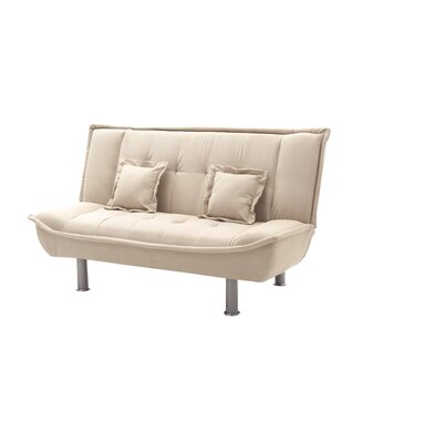 Hertford Sleeper Loveseat Upholstery: Vanilla