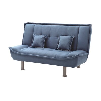 Hertford Sleeper Loveseat Upholstery: Lite Blue