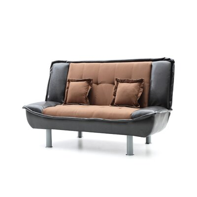 Kelath Sleeper Loveseat Upholstery: Chocolate/Brown