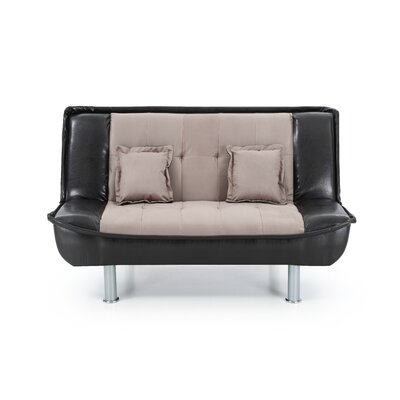 Kelath Sleeper Loveseat Upholstery: Moch/Brown