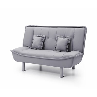 Ripalda Sleeper Loveseat Upholstery: Gray Pu