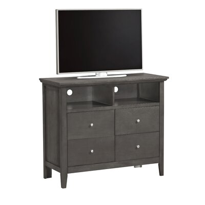Lignite 4 Drawer TV Chest