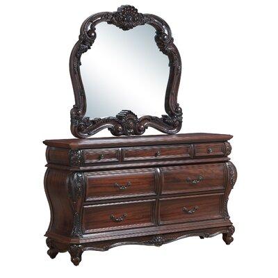 Armitage 7 Drawers Dresser with Mirror