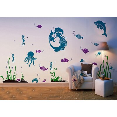 Sea World Removable Wall Decal PT-0180
