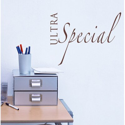 Ultra Special Wall Decal WL-0159-Vb