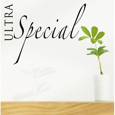 Ultra Special Wall Decal WL-0159-Va