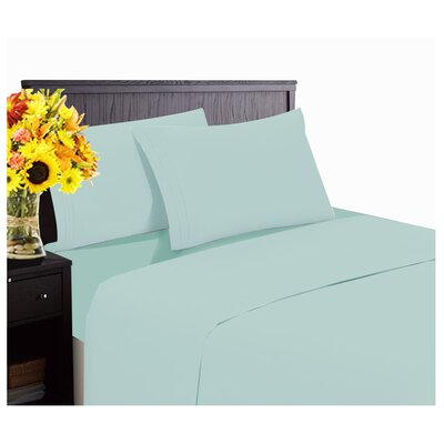 1800 Thread Count Sheet Set Size: Queen, Color: Spa Blue
