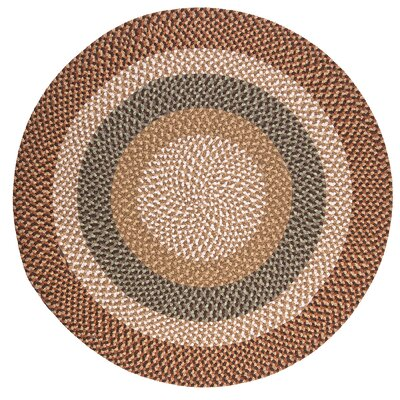 Fabric Multi Natural Area Rug Rug Size: Round 9