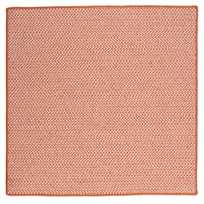 Outdoor Houndstooth Tweed Rug Size: 8 Square