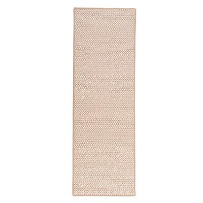 Outdoor Houndstooth Tweed Area Rug Rug Size: 2 x 8