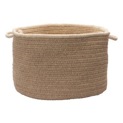 """Colonial Mills, Inc. Natural Style Round Basket - Size: 14"""" H x 24"""" W x 24"""" D, Color: Muslin at Sears.com"""