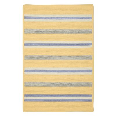 Painter Stripe Summer Sun Indoor/Outdoor Area Rug Rug Size: 5 x 7