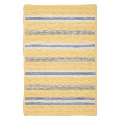 Colonial Mills, Inc. Painter Stripe Summer Sun Indoor/Outdoor Area Rug - Rug Size: 2' x 3'