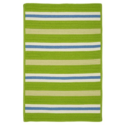 Painter Stripe Garden Bright Indoor/Outdoor Area Rug Rug Size: 2 x 3