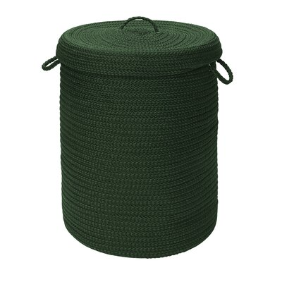 """Colonial Mills, Inc. Simply Home Solid Hampers with Lip - Size: 30"""" H x 18"""" W x 18"""" D, Color: Dark Green at Sears.com"""