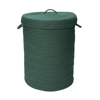 """Colonial Mills, Inc. Simply Home Solid Hampers with Lip - Size: 24"""" H x 16"""" W x 16"""" D, Color: Myrtle Green at Sears.com"""