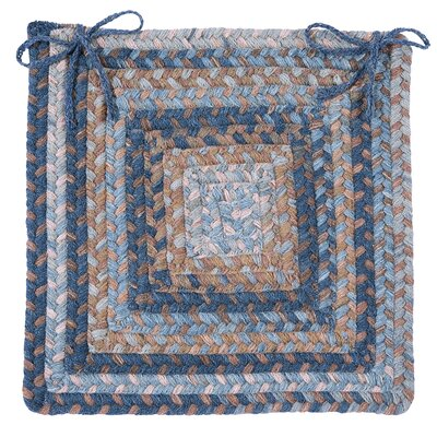 Gloucester Dining Chair Cushion Color: Blue