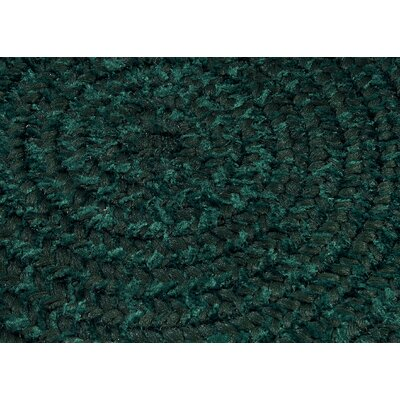 Spring Meadow Dark Green Area Rug Rug Size: Oval Runner 2 x 12