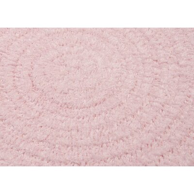Spring Meadow Blush Pink Area Rug Rug Size: Oval 3 x 5
