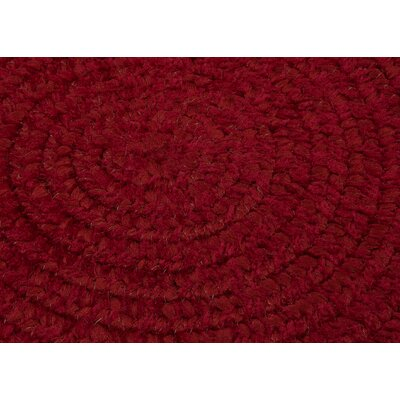 Spring Meadow Sangria Area Rug Rug Size: Round 4