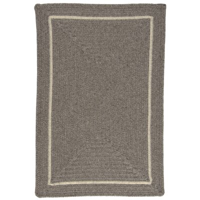 Shear Natural Rockport Gray Area Rug Rug Size: Square 12