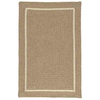 Shear Natural Muslin Area Rug Rug Size: Square 12
