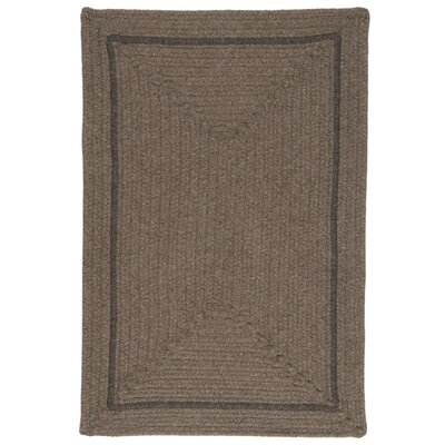 Shear Natural Latte Area Rug Rug Size: 5 x 8