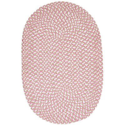 Boice Pink Area Rug Rug Size: Oval 4 x 6
