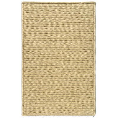Colonial Mills, Inc. Simply Home Solid Buff Indoor/Outdoor Area Rug - Rug Size: 3' x 5'