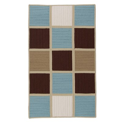 COLONIAL MILLS Simply Home Hopscotch Blue Chocolate Rug - Rug Size: 5' x 7' at Sears.com