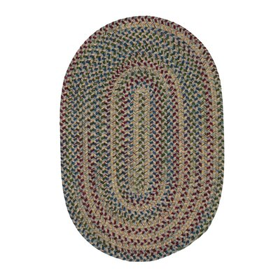 Greenlaw Gray Area Rug Rug Size: Oval 2 x 4