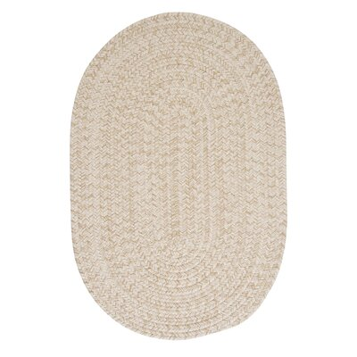 Maleah Natural Area Rug Rug Size: Oval Runner 2 x 12