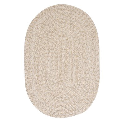 Tremont Natural Area Rug Rug Size: Oval 12 x 15