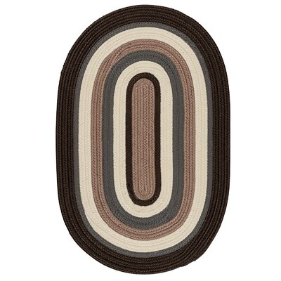 Brooklyn Brownstone Braided Indoor/Outdoor Area Rug Rug Size: Round 4