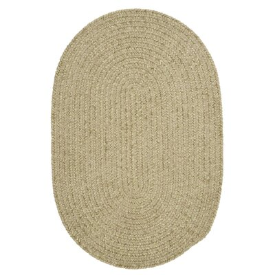 Spring Meadow Sprout Green Area Rug	 Rug Size: Oval 4' x 6'